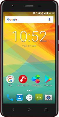 Мобильный телефон Prestigio Muze H3 Dual SIM Wine мобильный телефон prestigio muze b3 dual sim black