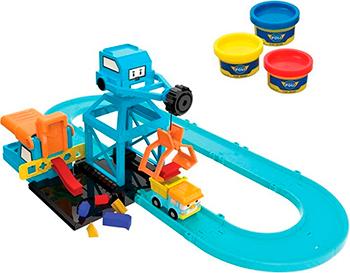 Игровой набор Robocar Poli Цементный завод игровой набор poli штаб квартира