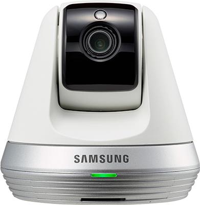 Wi-Fi видеоняня Samsung SmartCam SNH-V 6410 PNW белая видеоняня samsung smartcam snh c6417bn
