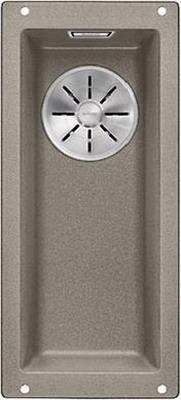 Кухонная мойка BLANCO SUBLINE 160-U SILGRANIT серый беж c отв.арм. InFino 523403 blanco statura 160 u