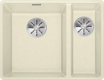 Кухонная мойка BLANCO SUBLINE 340/160-F жасмин с отв.арм. InFino 523572 мойка subline 400 f jasmine 519800 blanco