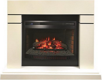 Каминокомплект Royal Flame Lindos c очагом Dioramic 26 LED FX (алебастр) 1164918986 очаг dioramic 25 fx