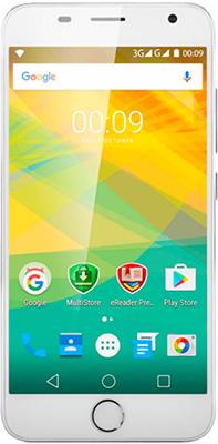 Мобильный телефон Prestigio Grace M5 LTE Dual SIM Silver смартфон prestigio grace z5 серебристый 5 3