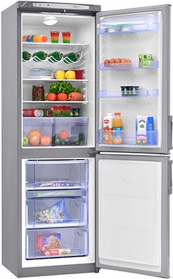 Двухкамерный холодильник Норд DRF 119 ISN нержавеющая сталь холодильник beko rcnk365e20zx двухкамерный нержавеющая сталь