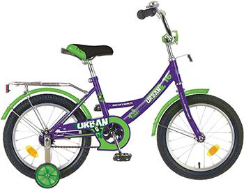 Велосипед Novatrack 14'' URBAN фиолетовый 143 URBAN.VL6 велосипед детский novatrack urban цвет красный черный 16