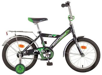 Велосипед Novatrack 161 TWIST.BK7 16'' TWIST  черный novatrack