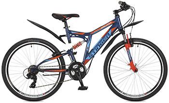 Велосипед Stinger 26 SFV.HILAND2.18 BL7 26'' Highlander 200 V 18'' синий велосипед stinger highlander 150v 26 2016