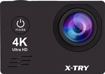 Экшн-камера X-TRY XTC 163 NEO BATTERY 4K WiFi экшн камера x try xtc160 4k wifi черный