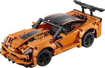 Конструктор Lego TECHNIC Chevrolet Corvette ZR1 фаркоп chevrolet captiva 2013 без электрики