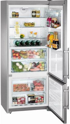 Двухкамерный холодильник Liebherr CBNPes 4656 двухкамерный холодильник liebherr ctp 2521