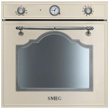 Встраиваемый электрический духовой шкаф Smeg SF 750 PS встраиваемый холодильник smeg s7323lfld2p