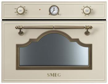 Встраиваемая микроволновая печь СВЧ Smeg SF 4750 MPO встраиваемая микроволновая печь smeg sf4390mx