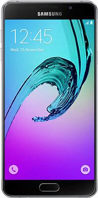 Мобильный телефон Samsung Galaxy A7 (2016) 16 Gb SM-A 710 F черный мобильный телефон samsung galaxy a3 2017 16 gb sm a 320 f черный