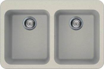 Кухонная мойка Smeg LSE 802 P-2  кремовый (GRANITEK) smeg sta13xl 2