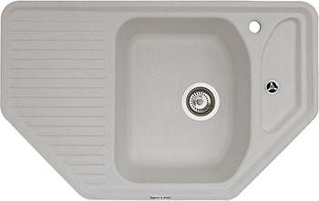 Кухонная мойка Zigmund amp Shtain ECKIG 800  каменная соль tafeng china 220v small grill pipe centrifugal gas smoke vacuum soot exhasut blower fan 60w