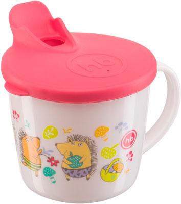 Чашка тренировочная Happy Baby TRAINING CUP 15010 RED