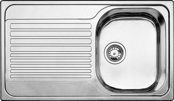 Кухонная мойка BLANCO TIPO 45 S нерж. сталь матовая blanco tipo 8 compact нерж сталь матовая