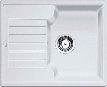 Кухонная мойка BLANCO ZIA 40 S SILGRANIT белый  мойка zia 40 s coffee 516927 blanco
