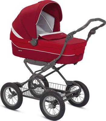 Коляска Inglesina Sofia на шасси Ergobike Slate (AB 15 H6AMN AE 15 H 6100) Красная коляска для новорожденного inglesina sofia на шасси ergobike slate ab15h6grf ae15h6100