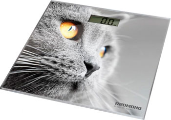 Весы напольные Redmond RS-735 (кошка) redmond rs 710 silver