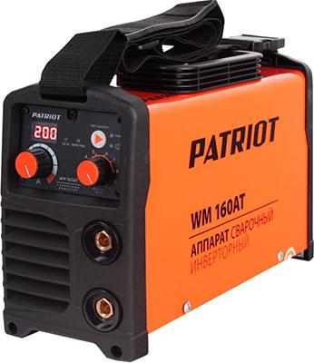 Сварочный аппарат Patriot WM 160 AT MMA сварочный аппарат patriot smart 180 mma