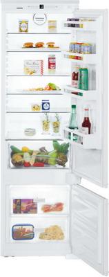 Встраиваемый двухкамерный холодильник Liebherr ICS 3224-20 встраиваемый двухкамерный холодильник liebherr icbs 3224 20