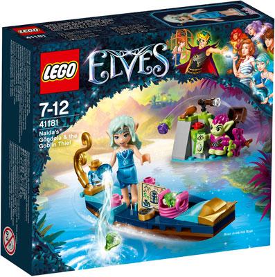 Конструктор Lego ELVES ВСТРЕЧА НАИДЫ С ГОБЛИНОМ-ВОРИШКОЙ 41181 цены