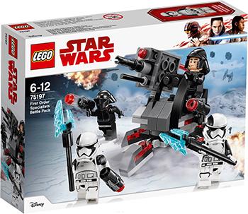 Конструктор Lego Star wars Боевой набор специалистов Первого Ордена 75197 конструктор lego star wars боевой набор планеты татуин 75198