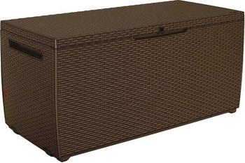 Сундук Keter CAPRI коричневый 17201486 стол сундук circa storage rattan table 132l keter