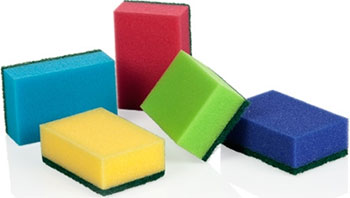 Губки кухонные Tescoma CLEAN KIT 5 шт. суперпрочные 900649 губки кухонные tescoma clean kit 3 шт с петелькой 900650