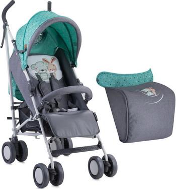 Коляска LORELLI Fiesta Grey&Green Friends 1704 10020731704 универсальная коляска bebetto murano 2016 09м grey light green