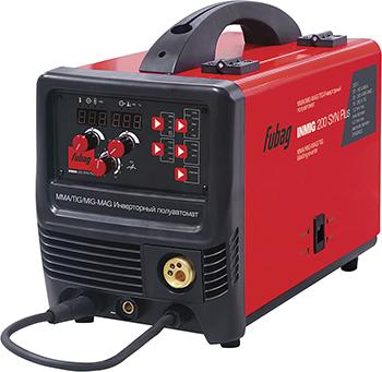 Сварочный полуавтомат FUBAG INMIG 200 SYN PLUS горелка FB 250 38644 1 инвертор сварочный fubag intig 200 dc pulse