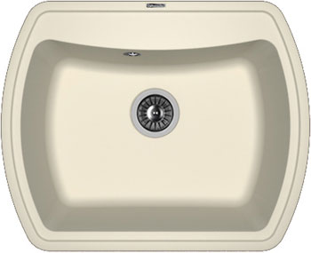 Кухонная мойка Florentina Нире-630 630х510 жасмин FS искусственный камень