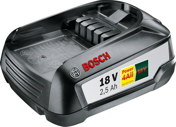 Аккумулятор Bosch PBA 18 V 2 5 Ah для системы 18 Li 1600 A 005 B0