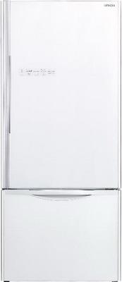 Двухкамерный холодильник Hitachi R-B 572 PU7 GPW двухкамерный холодильник hitachi r b 572 pu7 gpw