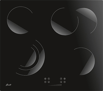Встраиваемая электрическая варочная панель FORNELLI PVA 60 BRILLARE цена и фото