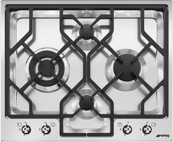 Встраиваемая газовая варочная панель Smeg PGF 64-4 мс мебель стул мс мебель pu 7318 красный cracwhw
