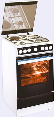 Комбинированная плита Kaiser HGE 52301 W brother hge m951v5