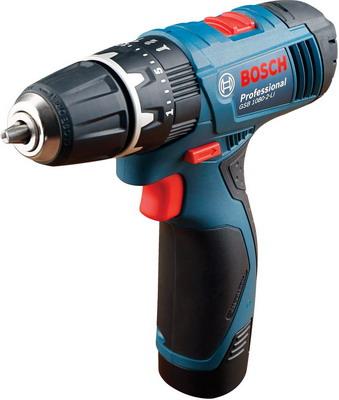Дрель-шуруповерт Bosch GSB 1080-2-LI Professional (06019 F 3020) шлифовальная машина bosch gss 230 ave professional