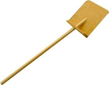 Лопата для снега Десятое Королевство Игрушка деревянная Лопата новая деревянная игрушка для новорожденных игрушка монтессори
