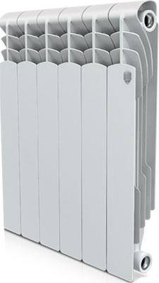 Водяной радиатор отопления Royal Thermo Revolution Bimetall 500 – 6 секц. royal thermo биметаллический revolution bimetall 500 8 секций