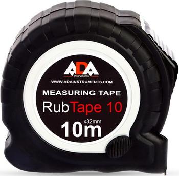 Измерительная рулетка ADA RubTape 10 рулетка ada instruments rubtape 8 а00157