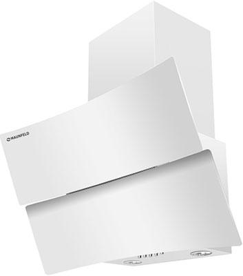 Вытяжка со стеклом MAUNFELD PLYM ARCA 60 Белое стекло comforty лаура 60 2 белое