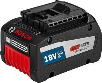 Аккумулятор Bosch GBA 18 V 6 3 Ah EneRacer Professional 1600 A 00 R1A bosch 36 v 2 6 ah f 016800301