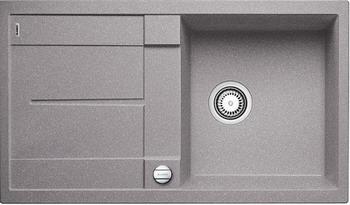 Кухонная мойка BLANCO METRA 5 S-F алюметаллик с клапаном-автоматом кухонная мойка blanco metra 6 s f алюметаллик с клапаном автоматом