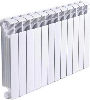 Водяной радиатор отопления RIFAR B 500 11 секц встраиваемая вытяжка korting khp 6214 gn