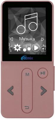 MP3 плеер Ritmix RF-4910 8Gb Rose ritmix ritmix rf 7200 фиолетовый 4гб