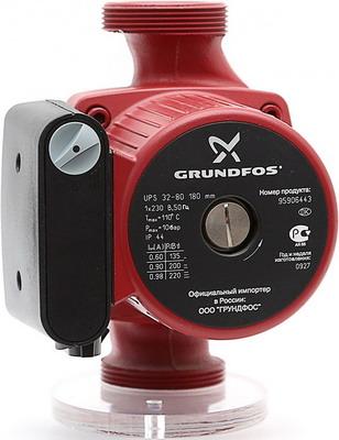 Насос Grundfos UPS 32-80 насос электрический циркуляционный grundfos alpha2 32 60 для чистой воды 34 вт