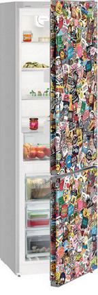 Двухкамерный холодильник Liebherr CNst 4813 StickerArt двухкамерный холодильник liebherr ctp 2521