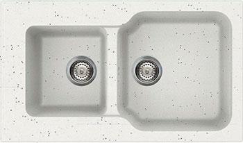 Кухонная мойка OMOIKIRI Maru 86-2-EV Tetogranit/эверест (4993290)